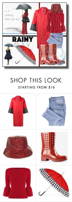 """""""Rainy Day Style"""" by kelly-floramoon-legg ❤ liked on Polyvore featuring Marni, Essie, Nine West, Valentino, ShedRain, rainyday, polyvoreeditorial and polyvorecontest"""