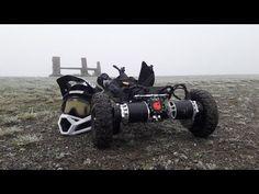 E-TOXX DIRECT DRIVE - VESC6 - LEOPARD8072 - AS5047 ENCODER - YouTube Diy Electric Skateboard, Motorized Skateboard, Diy Go Kart, E Motor, Batman Batmobile, Surf Boards, Diy Electronics, Electric Cars, Skateboards
