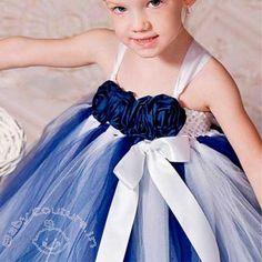 Dark Blue Cake Princess #Tutu #Dress