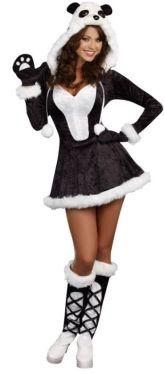 Women's Panda Bear Costume