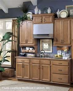Image Search Results for how to decorate above cabinets
