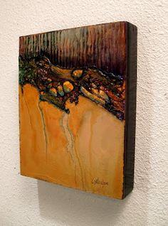 Carol Nelson mixed media contemporary abstract