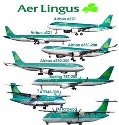 Aerlingus fleet Ireland Hotels, Ireland Travel, Ireland People, Backpacking Ireland, China Southern Airlines, Ireland Culture, Airbus A320, Ireland Weather, Atr 72