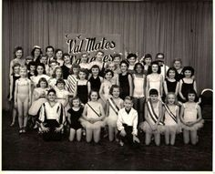 Vintage-Dance-photo-Lots-of-Children-dancers-in-Costume-photo