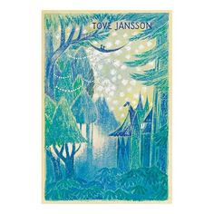 Moomin poster - Draft of Tales from Moominvalley - The Official Moomin Shop - 2 Finland Tove Jansson, Poster On, Poster Wall, Invisible Children, Beautiful Posters, Inspirational Wall Art, Poster Making, Varanasi, Scandinavian