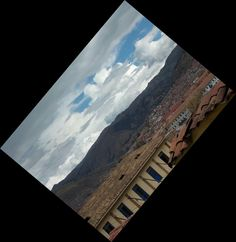 Contemplando os Andes e Cusco