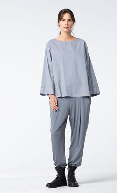 Easy cotton blouse at OSKA New York. Cotton Blouses 21a69ac0d