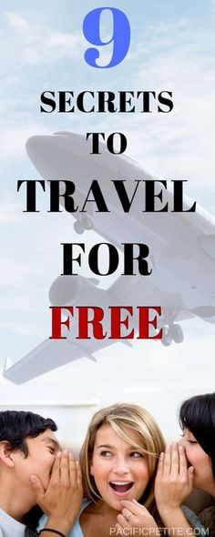 Traveling doesn't always have to be expensive. It can actually be free! Here are 8 ways to travel for absolutely free!
