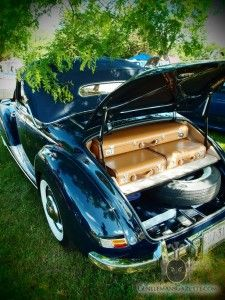 Mercedes Benz 220 Cabriolet A Trunk | Vintage Luggage | Gentlemans Gazette