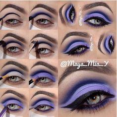 Fotos de moda   Paso a paso para aplicar maquillaje de ojo   http://soymoda.net