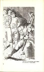 Image result for illustrations by mervyn peake