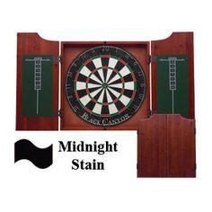 Black Canyon Dart Board Cabinet in Midnight