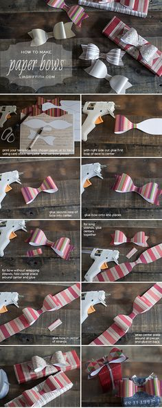 How to Make the Paper Bows