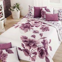 Colcha Flora 770 Manterol - Bazartextil.com Full Bedding Sets, Bed Cover Design, Bed Decor, Bedroom Design, Bed, Interior Design Bedroom, Bed Linens Luxury, Home Decor, Room Decor