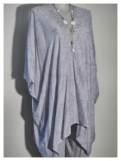 Gorgeous light cotton kaftans - $36