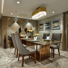 The Contemporary Design Style Apartment Interiors | GJ Associates - The Architects Diary