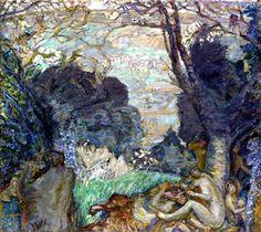The Fauns Pierre Bonnard - 1905-1910