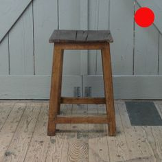 Teak wood stool By: Harvest & Company http://lokalinc.nl/profile/harvest-and-company