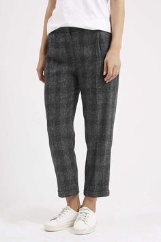 Photo 3 of Mensy Checked Peg Trousers