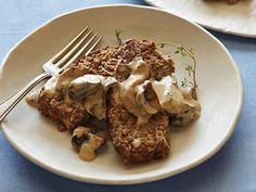 Meatless Meatloaf with Mushroom Gravy