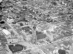 1926 City centre of Novi Sad - View from the Air