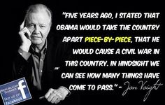 "Actor John Voight predicted Obama would take America apart ""piece by piece""  1/17/15"