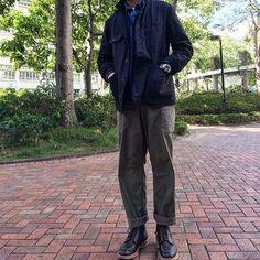 mr.kimochik After Xmas #jacket #engineeredgarments  #denimshirts #apc #cargopants #albamclothing  #boots #aldenshoes #indyboots  #madeinnewyork #madeinusa #madeinengland 2016/12/27 14:18:39