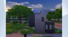 Check out this lot in The Sims 4 Gallery! - A small, comfy house, perfect for the Sims who just start working their way up to the world's ladder. Covers all basic needs, like food, hygiene and sleep, and does have the potential to expand.