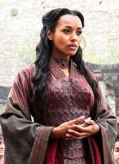 Red Priestess - Melanie Liburd in Game of Thrones Season 6 (TV series).