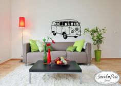 VW bus (SWP011) by Sweet Pea Decor