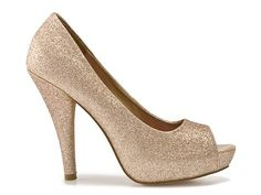 So obsessed with sparkly heels. I think I need one in every color <3