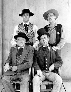 Hugh O'Brian, William Tannen, Paul Brinegar, Pierce Lynden