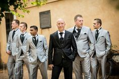 Groom and Groomsmen suits - Tyme Photography
