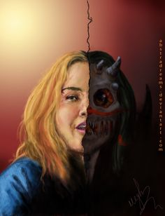 Behind Blue Eyes by castielwinchester on Tumblr ||| Meg ||| Supernatural Fan Art