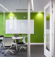 whiteboard to meeting room feature wall colour