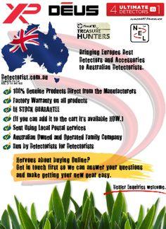 http://detectorist.com.au Australia's Authorised XP Deus Distributor also Authorised for MarsMD and NEL.