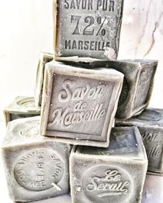 our favorite Savon de Marseille 300gram now available in the shop #savon #frenchsoap #bathroom #frenchdecor #vivietmargot #bath #beauty #frenchbathproducts