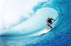 SUP-surfing