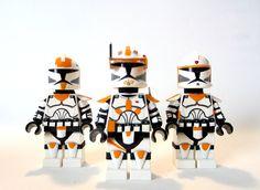 Custom LEGO - Star Wars Clone Commander Cody, Boil & Waxer - YouTube