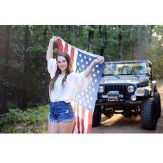 Jeep Life — jeepbeef:   @annehenryy Senior Pics done right...