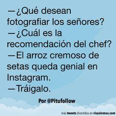 Queda genial en Instagram. #humor #risa #graciosas #chistosas #divertidas