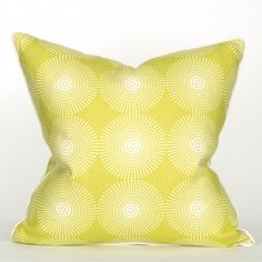 South Beach Collection Sour Apple Pillow