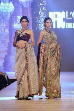 Bridal Week 2014-15 | Nickie Nina PFDC L'Oreal Paris Bridal Week 2014-15 Rumi to Raj Collection Day 3 - Fashion Maxi