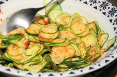 Korean pickled cukes from WeirdCombinations
