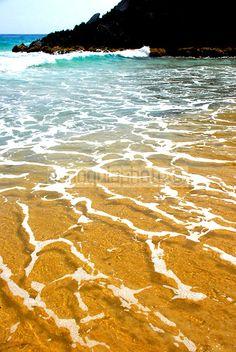 Una de las playas de Choroní. Costas de Aragua Venezuela