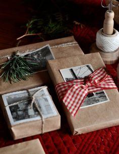 Weihnachtsgeschenke verpacken - Verpackungen, die nicht viel kosten | Meine Svenja