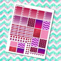 BERRY Weekly Kit  Erin Condren  Printable  by FantasyPlanners