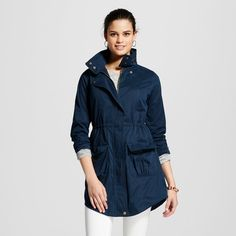 Women's Anorak Jacket - Inky Blue - Xxl - Mossimo Supply Co.