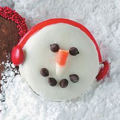 16 Best Snowman Treats Images In 2013 Christmas Treats Christmas