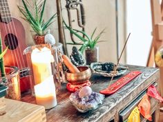 Meditations Altar, Bhakti Yoga, Post, Blog, Table Settings, Table Decorations, Board, Accessories, Beautiful